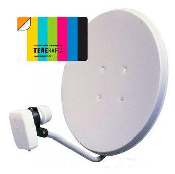 Телекарта тв ,спутниковое телевидение в новосибирске