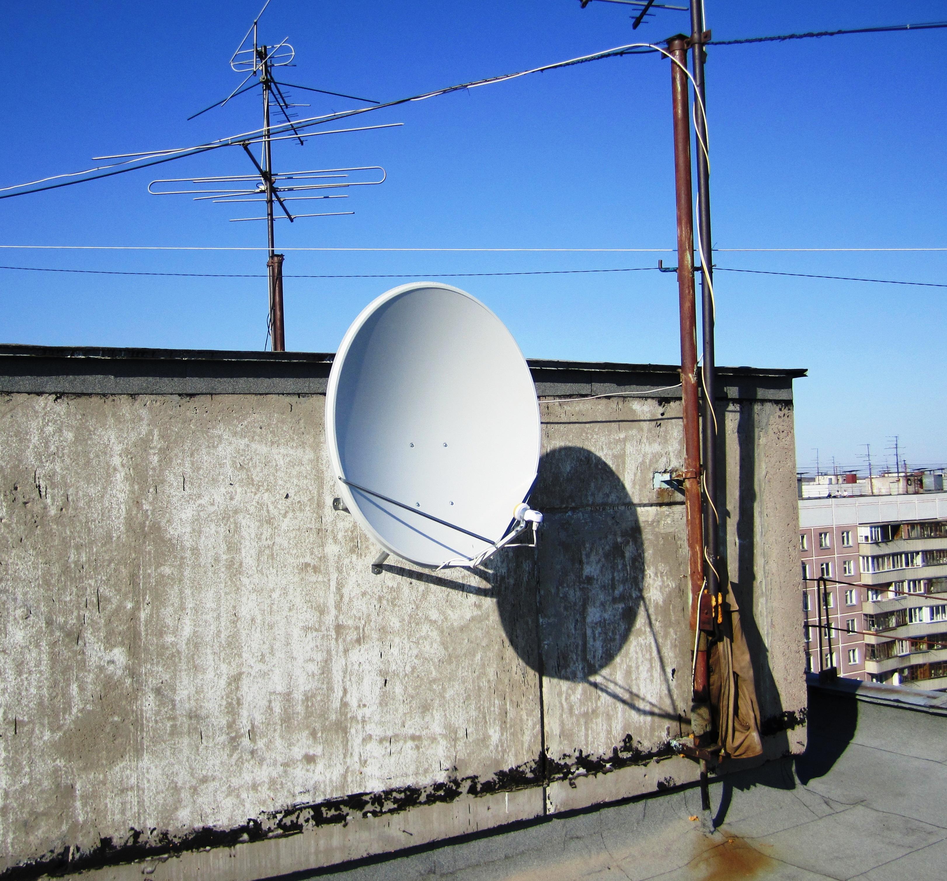Спутниковое тв установка своими руками