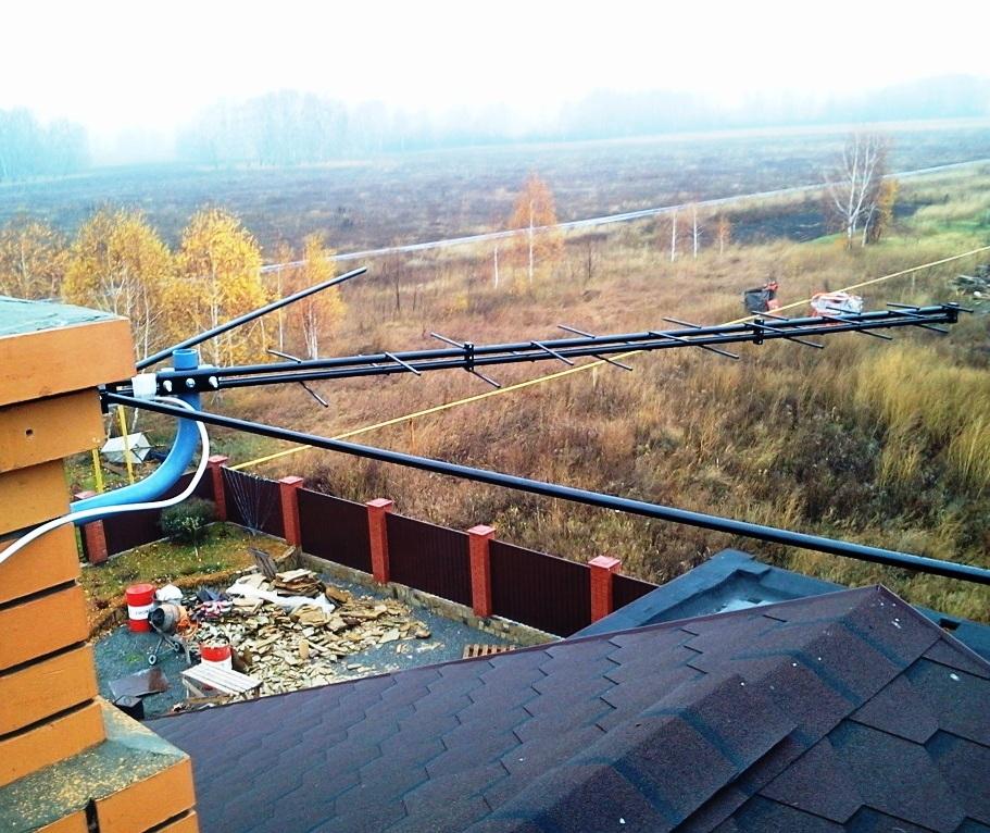 Установить эфирную антенну в Новосибирске,Бердске