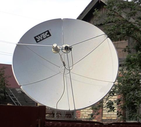 антенны которые ловят сигнал с тарелок